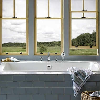 American Standard Studio 62.5'' x 38.8'' Bathtub