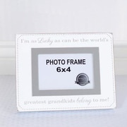Adams & Co Lucky Grandkids Picture Frame