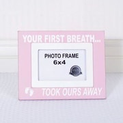 Adams & Co Your First Picture Frame; Pink/White