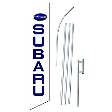 NeoPlex Subaru Swooper Flag and Flagpole Set