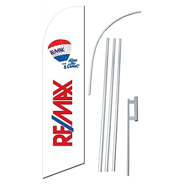 NeoPlex Remax Swooper Flag and Flagpole Set