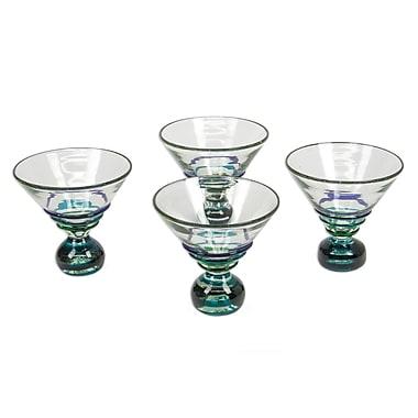 Novica Martini Glass (Set of 4)