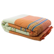 Novica Woven By Hand Cotton Bedspread