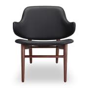 Kardiel Larsen Shell Side Chair; Black