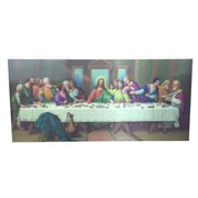 Creative Motion '3D Paint w/ Last Supper' Graphic Art on Canvas