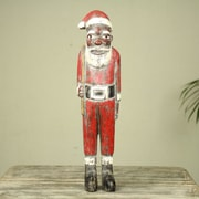 Novica African Unique Santa Claus Christmas Figurine