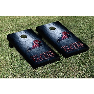 Victory Tailgate NCAA Metal Version Cornhole Game Set; South Carolina Aiken Pacers