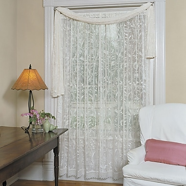 Heritage Lace Conventry Single Curtain Panel; 45'' W x 84'' L