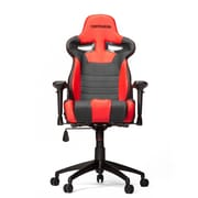 Vertagear High-Back Gaming Office Chair w/ Arms; Black/Red