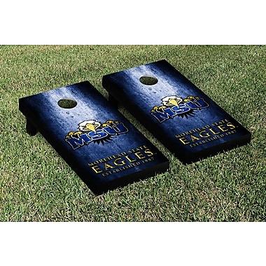 Victory Tailgate NCAA Metal Version Cornhole Game Set; Morehead State Eagles