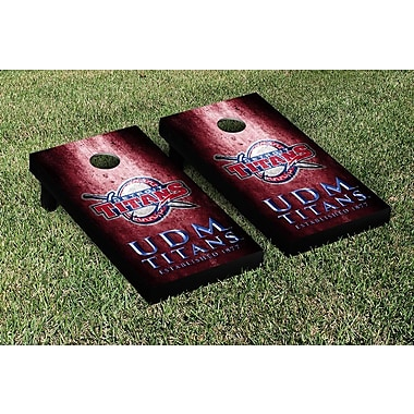 Victory Tailgate NCAA Metal Version Cornhole Game Set; Detroit Mercy Titans