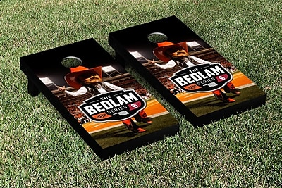 Victory Tailgate NCAA Bedlam Series Rivalry Version Cornhole Game Set; Oklahoma State Cowboys WYF078278873455