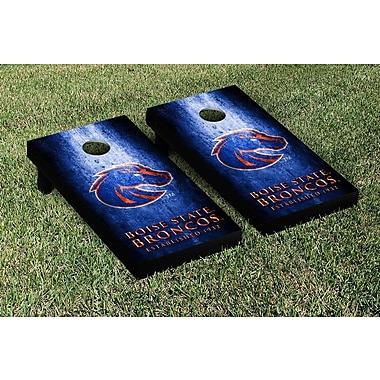 Victory Tailgate NCAA Metal Version Cornhole Game Set; Boise State Broncos