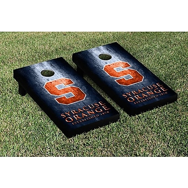 Victory Tailgate NCAA Metal Version Cornhole Game Set; Syracuse Orange