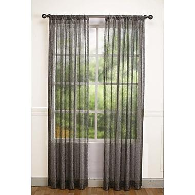 HFI Calisto Abstract Sheer Single Curtain Panel