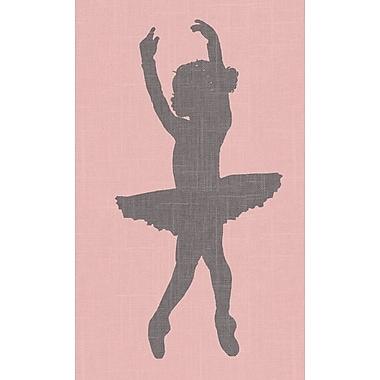 GreenBox Art 'Ballerina Face Left' by Patti Rishforth Graphic Art on Canvas; 18'' H x 14'' W