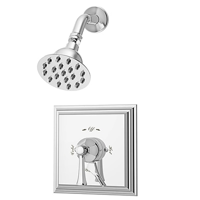 Symmons Canterbury Pressure Balance Shower System w/ Lever Handle