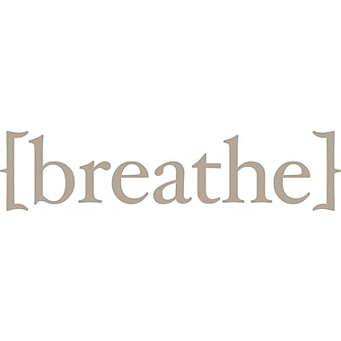 WallPops! Breathe Wall Quote Decal