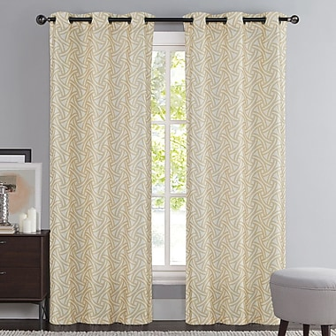 VCNY Tali Drape Panel (Set of 2); Taupe
