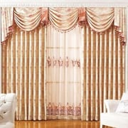AirDoDo Luxury European Nature/Floral Blackout Grommet Single Curtain Panel; 70'' W x 84'' L