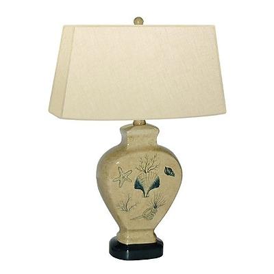 JB Hirsch Spruce Shell 20'' Table Lamp