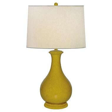 JB Hirsch Safari Sun Vennetia Plaster Porcelain 25'' Table Lamp