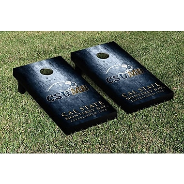 Victory Tailgate NCAA Metal Version Cornhole Game Set; Cal State Monterey Bay Otters