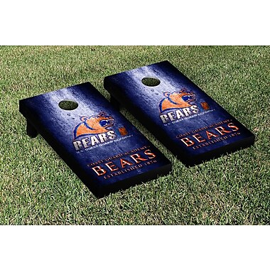 Victory Tailgate NCAA Metal Version Cornhole Game Set; US Coast Guard Academy USCGA Bears