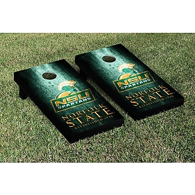 Victory Tailgate NCAA Metal Version Cornhole Game Set; Norfolk State Spartans