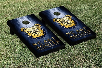 Victory Tailgate NCAA Metal Version Cornhole Game Set; North Carolina A&T State Aggies