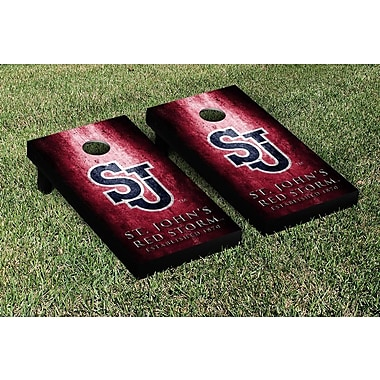 Victory Tailgate NCAA Metal Version Cornhole Game Set; St. Johns Red Storm