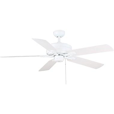 Wind River 52'' Courtyard 5-Blade Fan; White