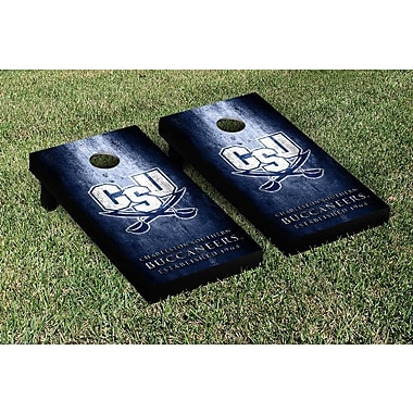 Victory Tailgate NCAA Metal Version Cornhole Game Set; Charleston Southern Buccaneers