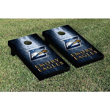 Victory Tailgate NCAA Metal Version Cornhole Game Set; Emory Eagles