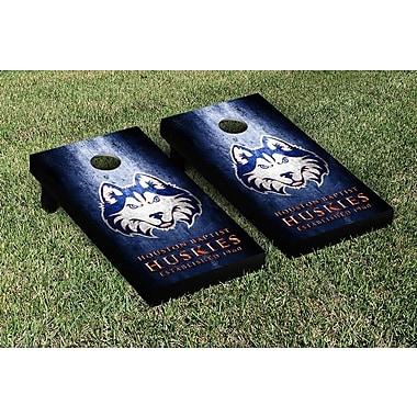Victory Tailgate NCAA Metal Version Cornhole Game Set; Houston Baptist University Huskies