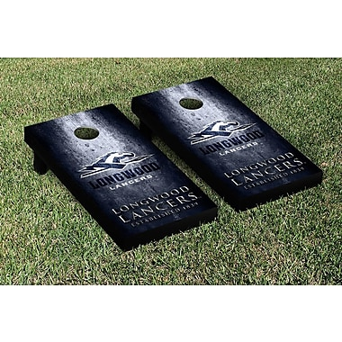 Victory Tailgate NCAA Metal Version Cornhole Game Set; Longwood Lancers