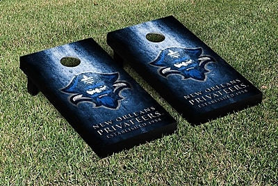 Victory Tailgate NCAA Metal Version Cornhole Game Set; University Of New Orleans Privateers