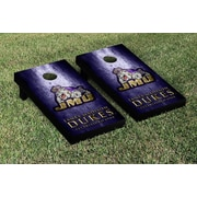 Victory Tailgate NCAA Metal Version Cornhole Game Set; James Madison JMU Dukes