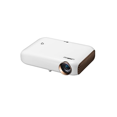 LG PW1500 1500 Lumen Minibeam LED Projector With Screen Share and Bluetooth Sound Out