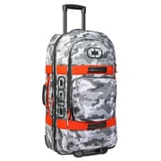 OGIO – Sac de voyage à roulettes Terminal, camouflage neige/Orange (108226.573)