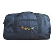 "McBrine 28"" Nylon Large Duffle Bag with Heavy Duty Nylon Zipper, Light Black (P2482-BK)"