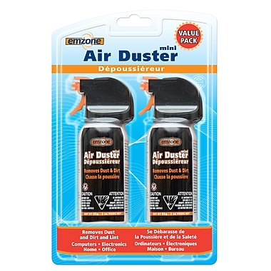 Emzone Air Duster Mini, 3oz, 2/Pack, (47062-02)