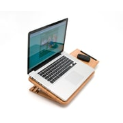 Lipper Bamboo Expandable/ Adjustable Laptop Computer Tray Slatted (1888)