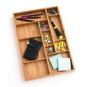 Lipper Bamboo Adjustable Drawer Organizer (8397)