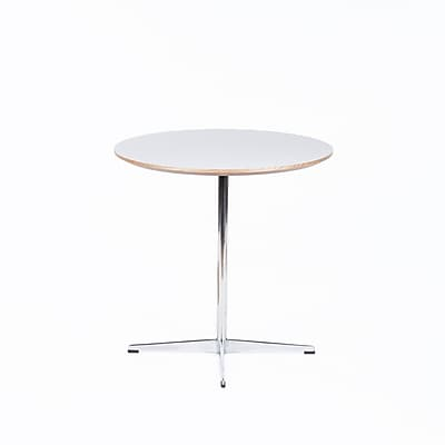 Control Brand Heerlen Melamine Side Table, White, Each (FET0319WHTB)