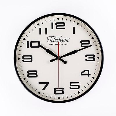 Control Brand 13.75'' Black Bedford Clock (G131614BLK)