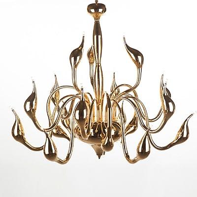 Control Brand Rise Pendant Lamp, Gold (LS803218G)