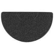 "Salon Decor Texture 34""x59"" half oval"