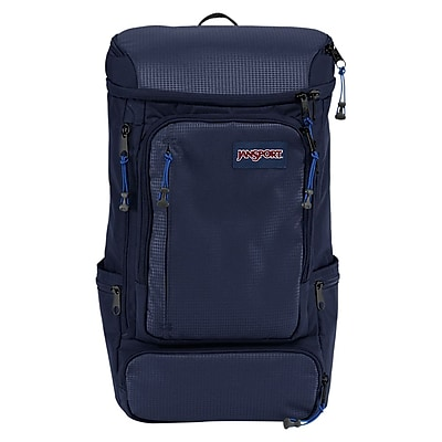 Jansport Navy Nylon/Polyester Sentinel Backpack (T69E003)