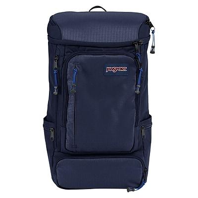Jansport Navy Nylon/Polyester Sentinel Backpack (T69E003)